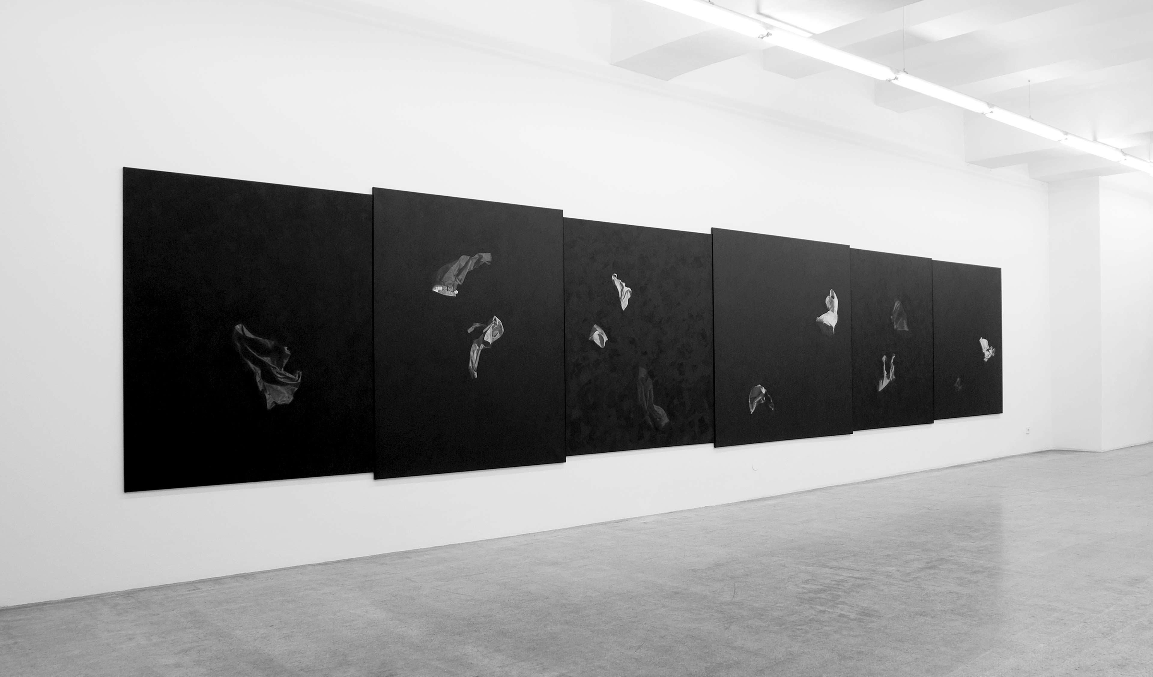 Drago Persic Installation view Engholm Gallery 2009
